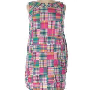 Talbots Madras Dress 16